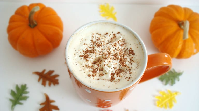 Pumpkin Latte {Sugar-Free} #Pumpkin #Healthy