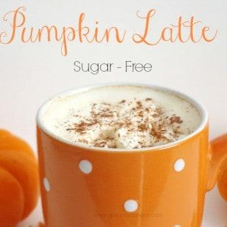 Pumpkin Latte {Sugar-Free}