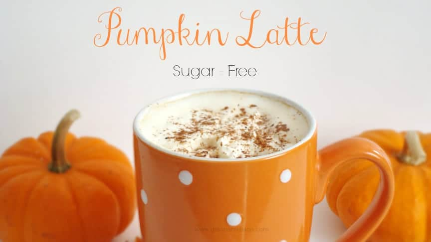 Pumpkin Latte {Sugar-Free} #Pumpkin #SugarFree #Healthy