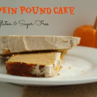 Pumpkin Pound Cake {Gluten & Sugar-Free}