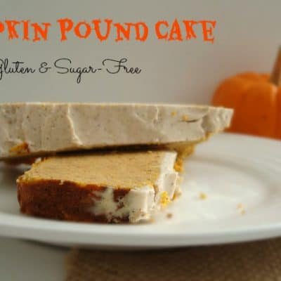 Pumpkin Pound Cake {Gluten & Sugar-Free} #Pumpkin #Healthy #Fall