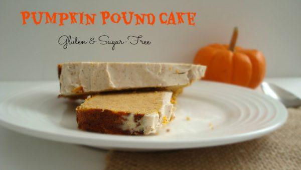 Pumpkin Pound Cake {Gluten & Sugar-Free} #Pumpkin #Healthy #Fall