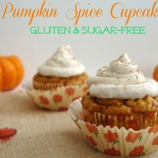 Pumpkin Spice Cupcakes {Gluten & Sugar-Free}