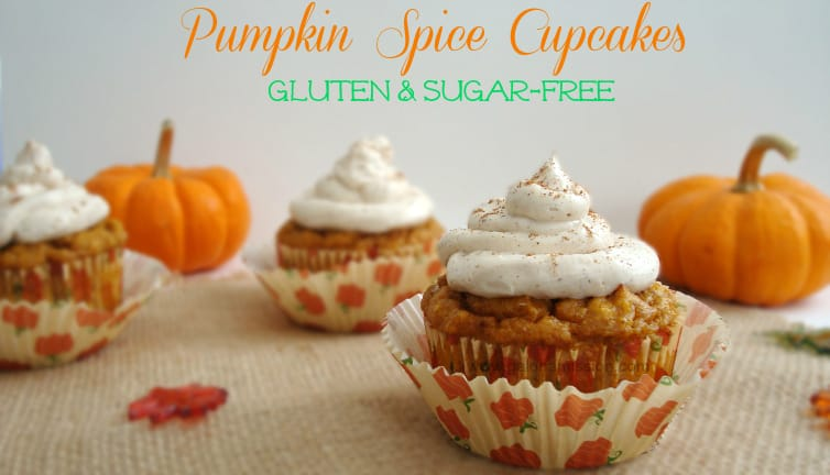Pumpkin Spice Cupcakes {Gluten & Sugar-Free} - Gal on a Mission