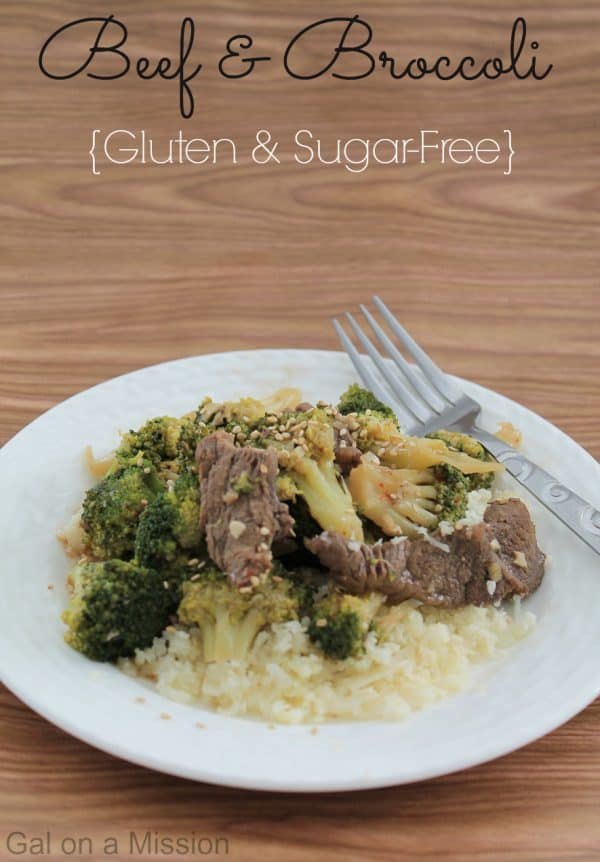 Beef and Broccoli {Gluten and Sugar-Free} #Yummy #Dinner #Chinese #S #THM #trimhealthymama