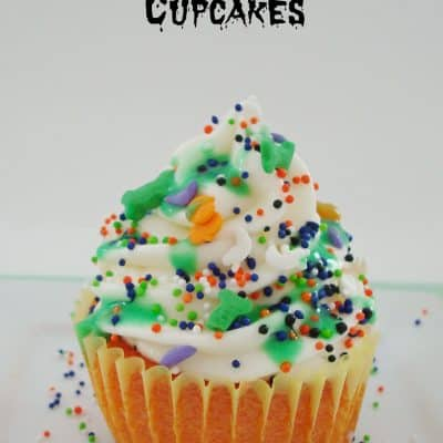 Halloween Slime Cupcakes #Halloween #Treats #Silly #Cupcakes #Yummy #Fall