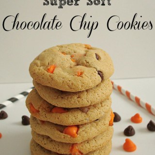Super Soft Halloween Chocolate Chip Cookies
