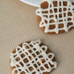 Molasses Cardamon White Chocolate Cookies