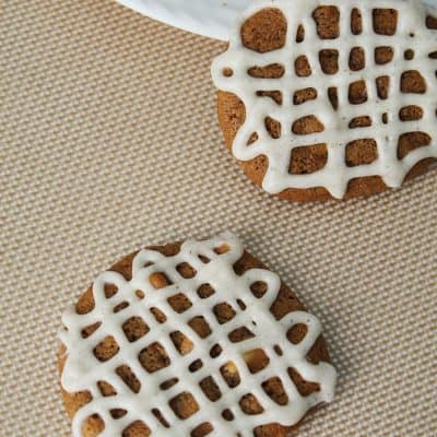 Molasses Cardamon White Chocolate Cookies