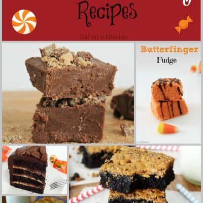 21 Leftover Candy Recipes #Desserts #Candy #Halloween #Fall #Yummy