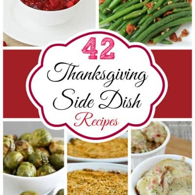 42 Thanksgiving Side Dish Recipes