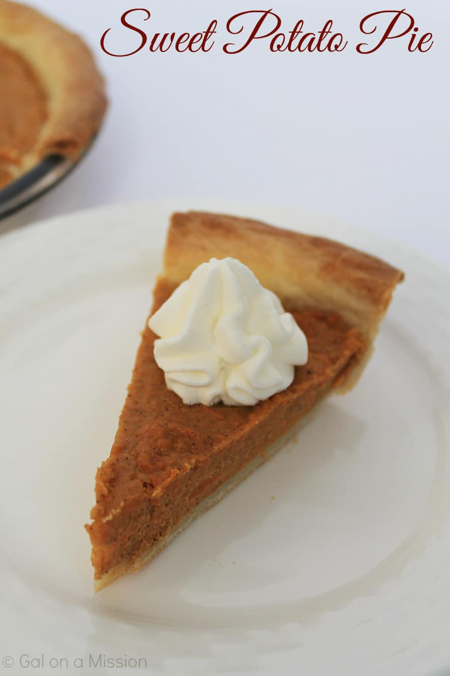 Sweet Potato Pie - Easy Thanksgiving Dessert