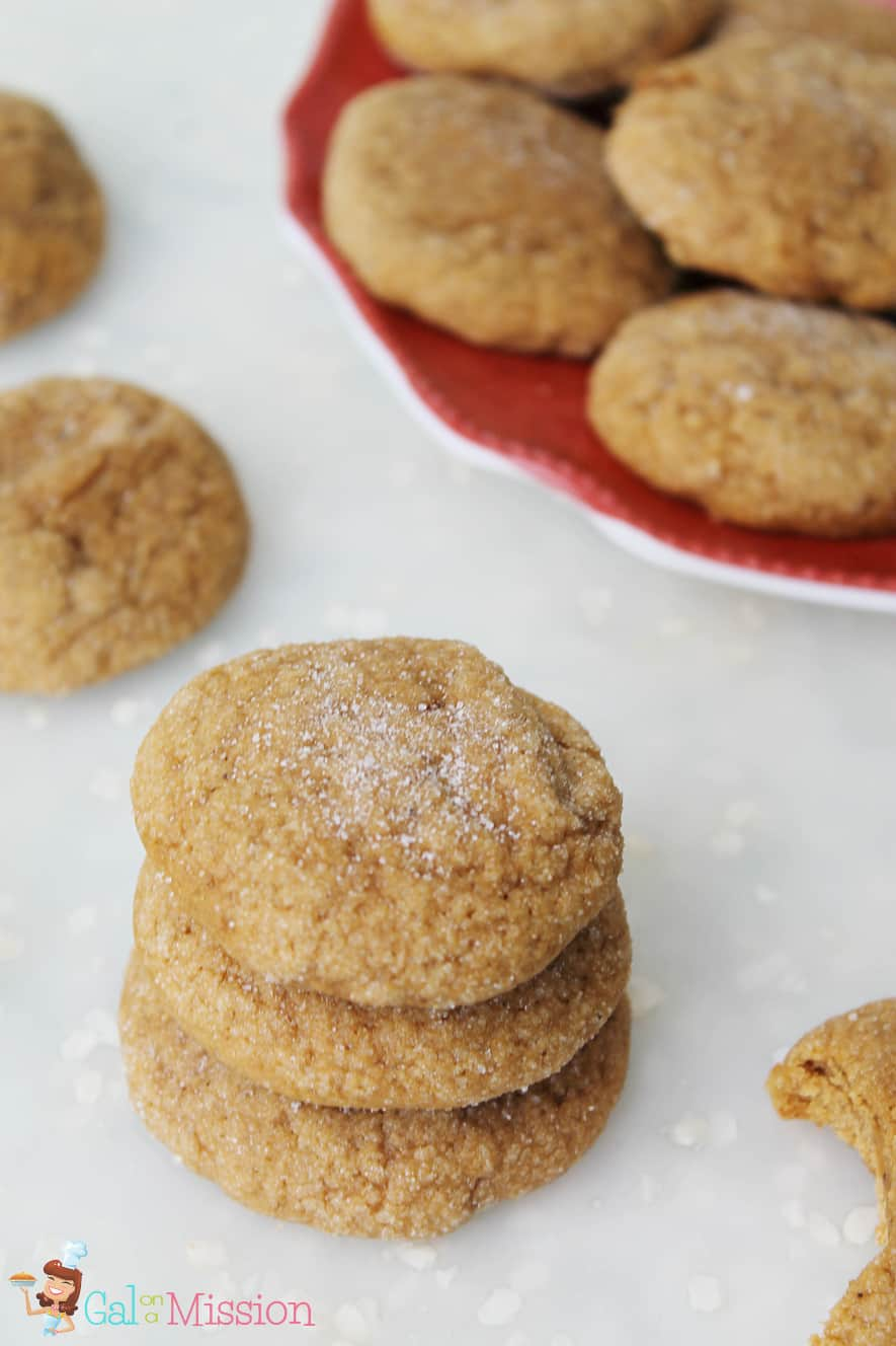 Chewy Molasses Cookies #10DaysofCookies