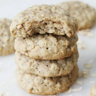 Classic Oatmeal Cookies #10DaysofCookies