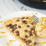 Deep-Dish Skillet Chocolate Chip Cookie