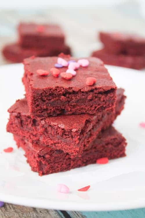 Red Velvet Brownie Bites Gal On A Mission