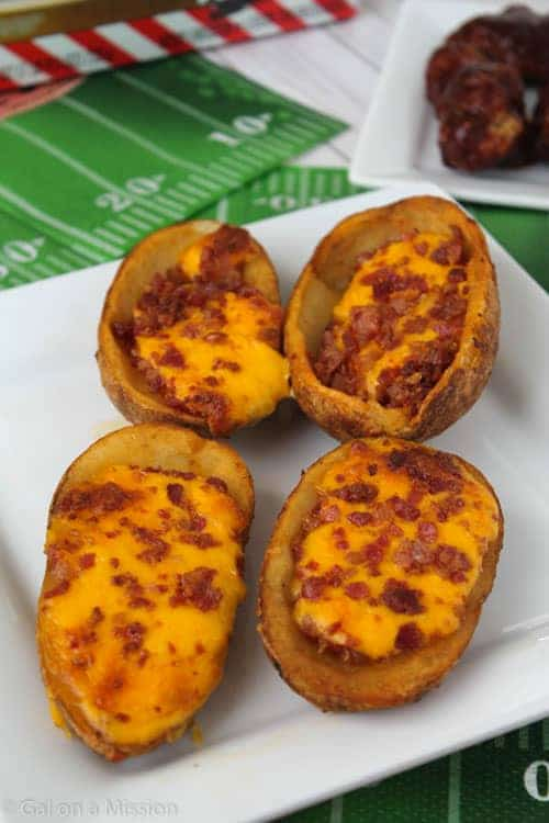 T.G.I Friday's Loaded Cheddar & Bacon Potato Skins