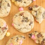Chewy Spring Chocolate Chip Cookies on galonamission.com