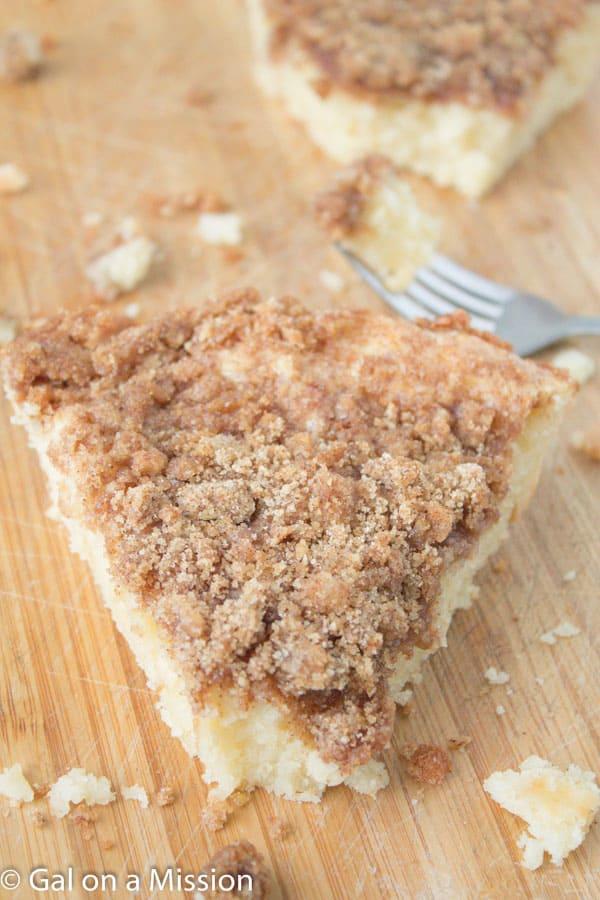 Super Moist Coffee Crumb Cake
