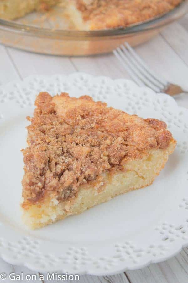 An absolutely delicious Coffee Crumb Cake Recipe | Recipe on galonamission.com