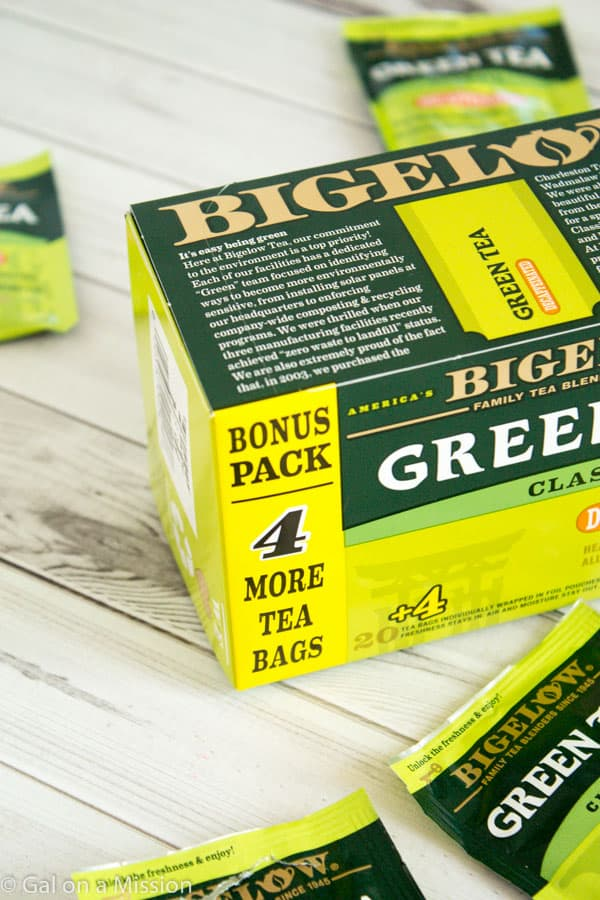 Bigelow Green Tea with Bonus 4-Pack