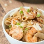 Spicy Shrimp Parmesan Pasta