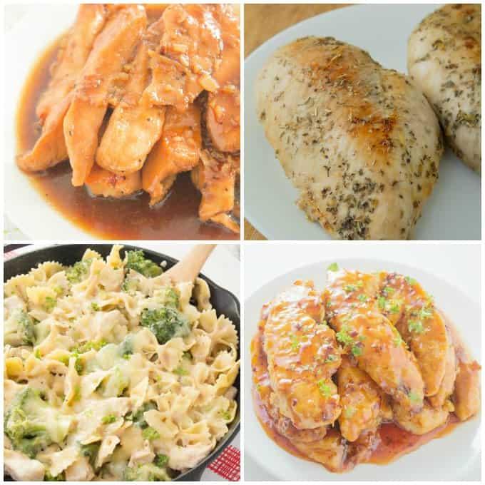 Chicken Collage for Sesame Chicken