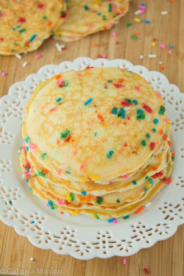 Funfetti Pancakes Gal On A Mission