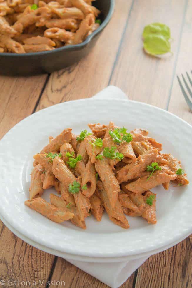 Creamy Italian Pasta Skillet Recipe | galonamission.com