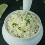 Paleo Chipotle Cilantro Lime Rice