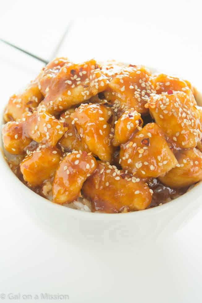 Sesame Chicken - Better than take-out! Recipe on galonamission.com
