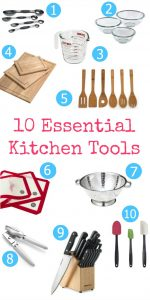 10 Essential Kitchen Tools