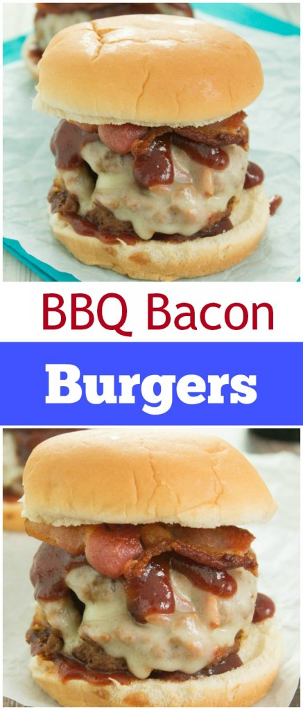 BBQ Bacon Burgers - Gal on a Mission