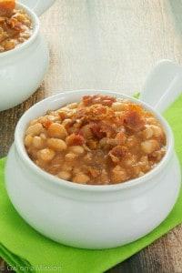BBQ Homemade Baked Beans