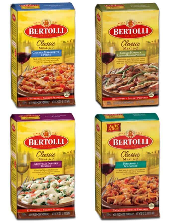 Bertolli Classic Meals for 2