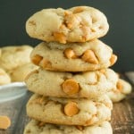 Thick and Chewy Butterscotch Cookies