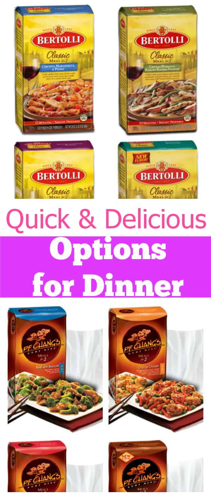 Quick & Delicious Options for Dinner