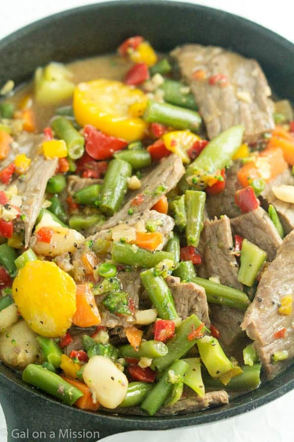 Beef Ginger Stir-Fry | Ready in 30 minutes!