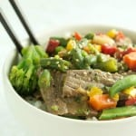 Quick Beef Ginger Stir-Fry
