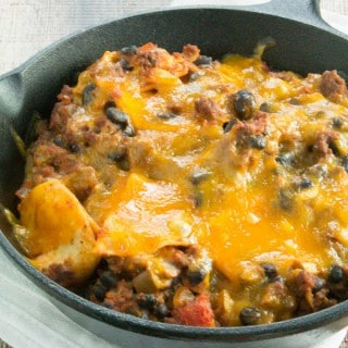 Beef Taco Skillet Casserole