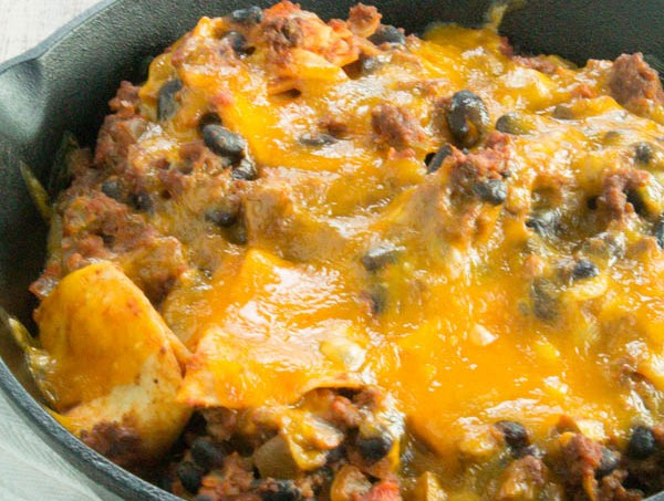 delicious and Mouthwatering Beef Taco Skillet Casserole Recipe