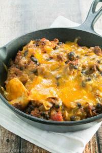Beef Taco Skillet Casserole Recipe