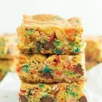 Funfetti Cake Mix Cookie Bars