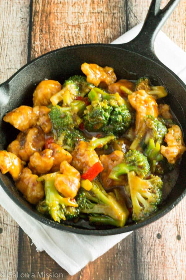 Quick and Delicious Options for Dinner - General Chang's Chicken
