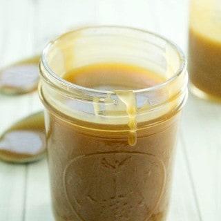 5-Minute Microwave Caramel Sauce