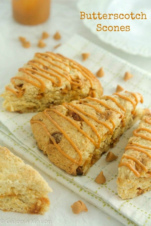 Mouthwatering Butterscotch Scones