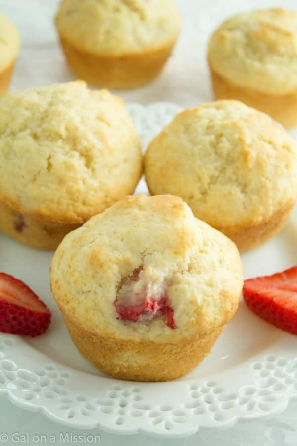 Easy Strawberry Muffins Recipe | So moist and delicious!