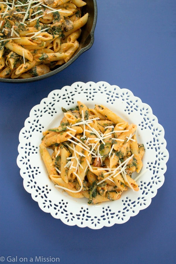 Easy and Delicious Penne Rosa Pasta! Ready under 30 minutes!