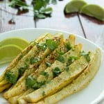 Cilantro Lime Squash Fries that are super-healthy and so delicious!