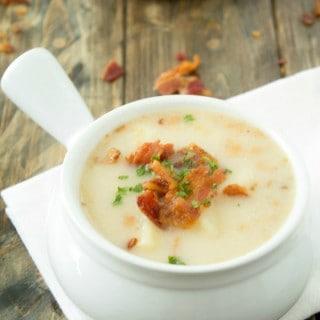 Dairy-Free Potato Soup